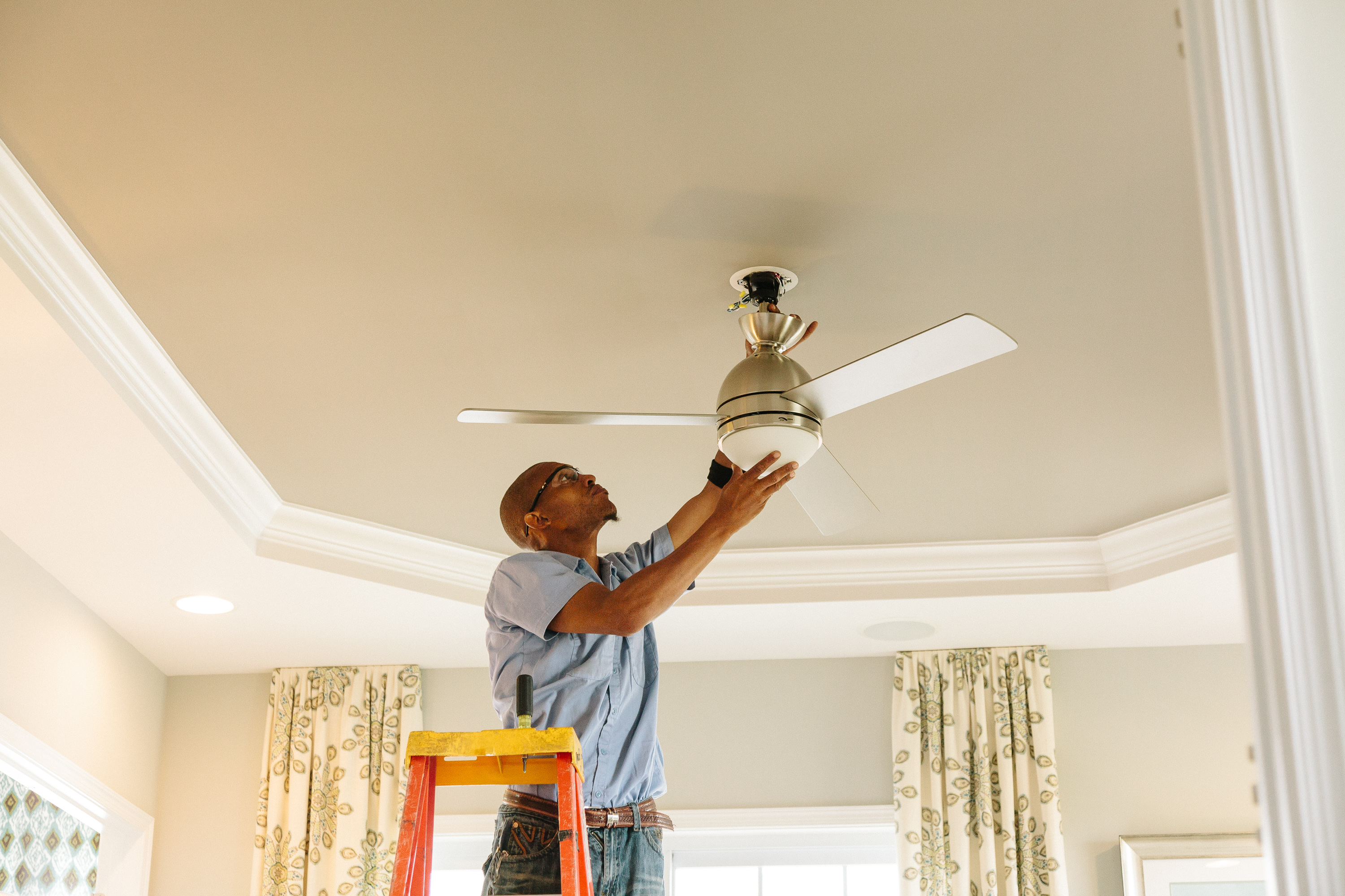 Image of Ceiling Fan Installation by Southern Electric in Leesburg VA