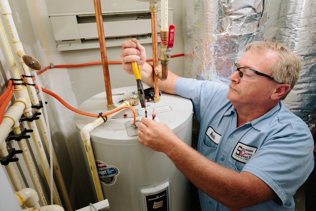 hot water heater installation by SESCOS in Leesburg VA