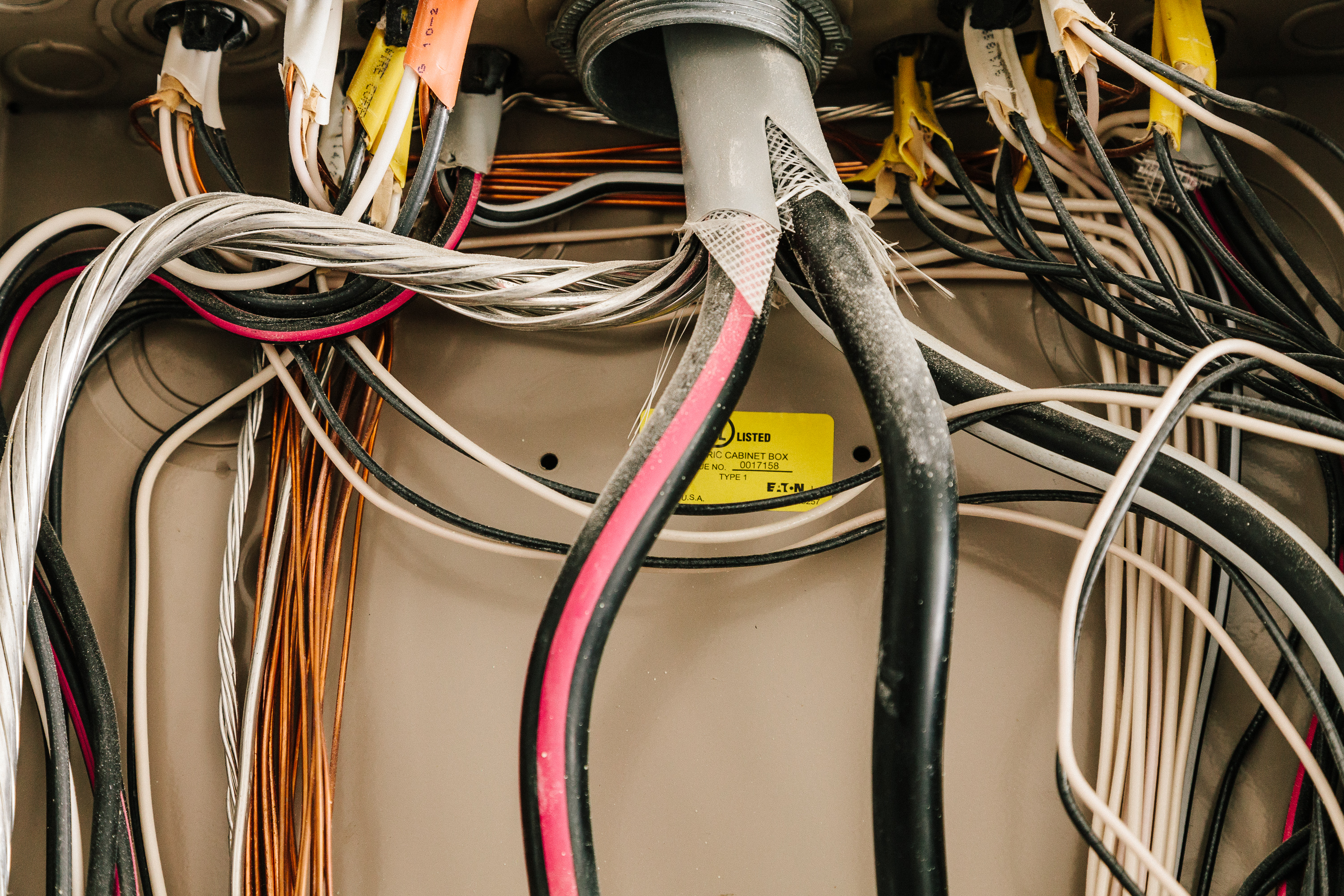 Image of electrical wires and more