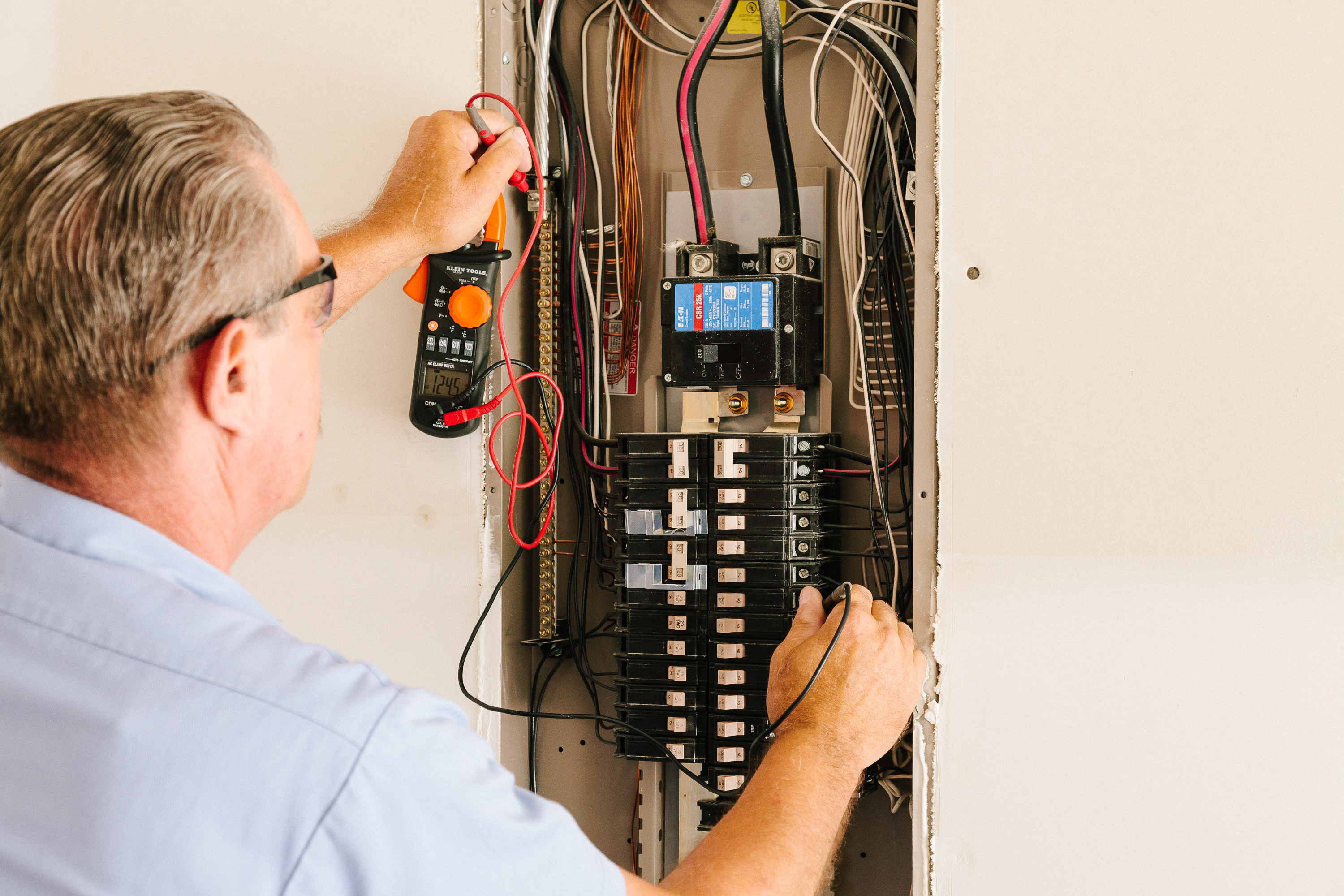 Image of Electrical Inspection of Panel by SESCOS