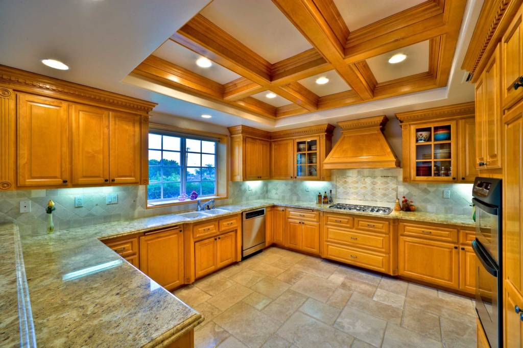 Recessed LED lighting kitchen