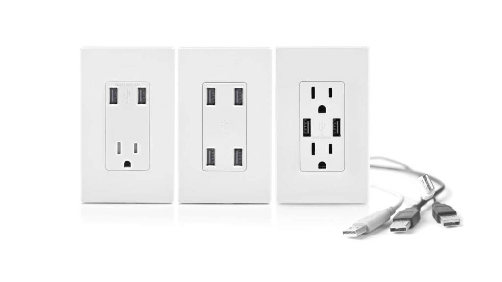 usb receptacle upgrades from SESCOS Leesburg based Electrical Contractors