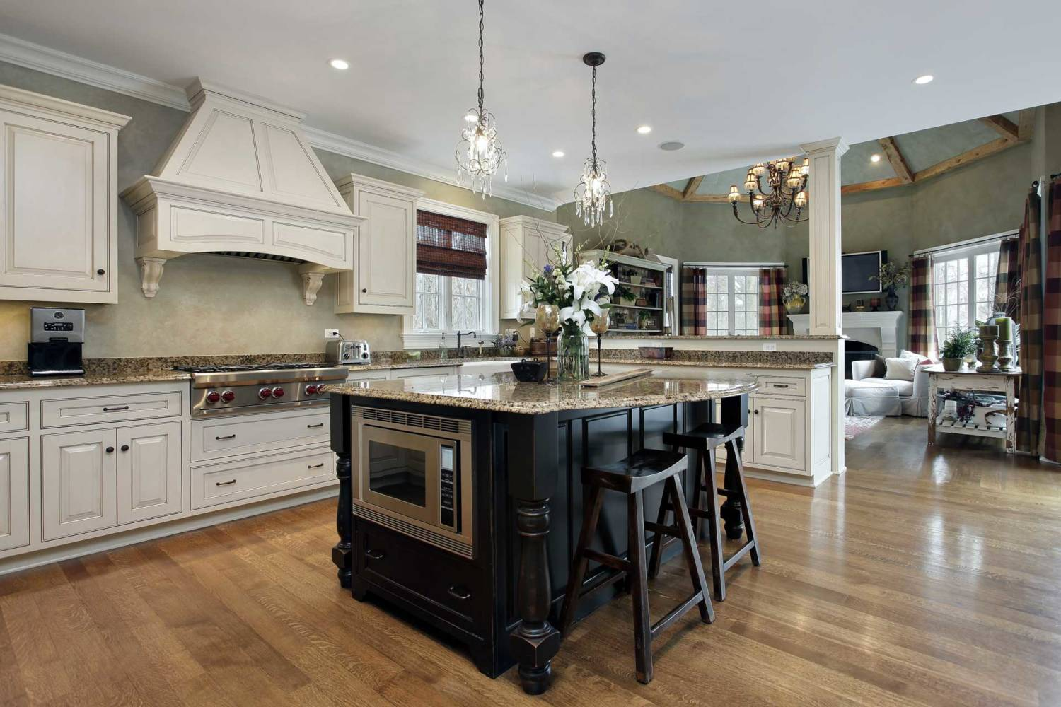 Electrical wiring of Kitchen Islands by Southern Electric - Leesburg VA