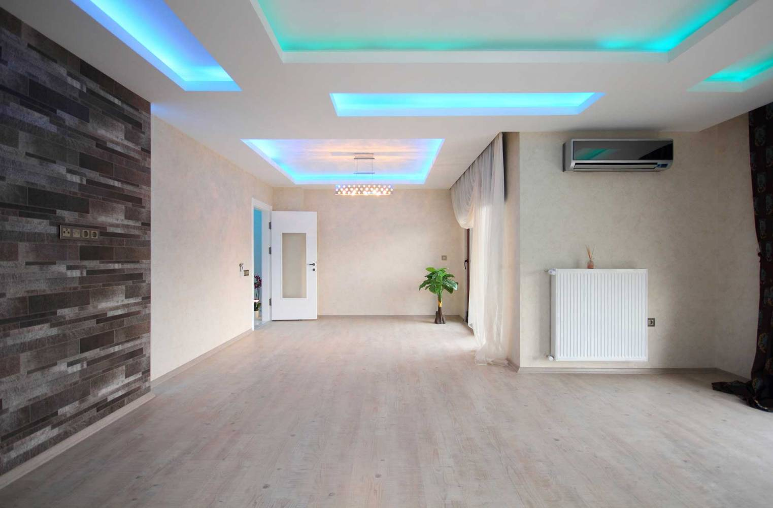 Image of LED Color Lighting System - Smart Lighting Installation