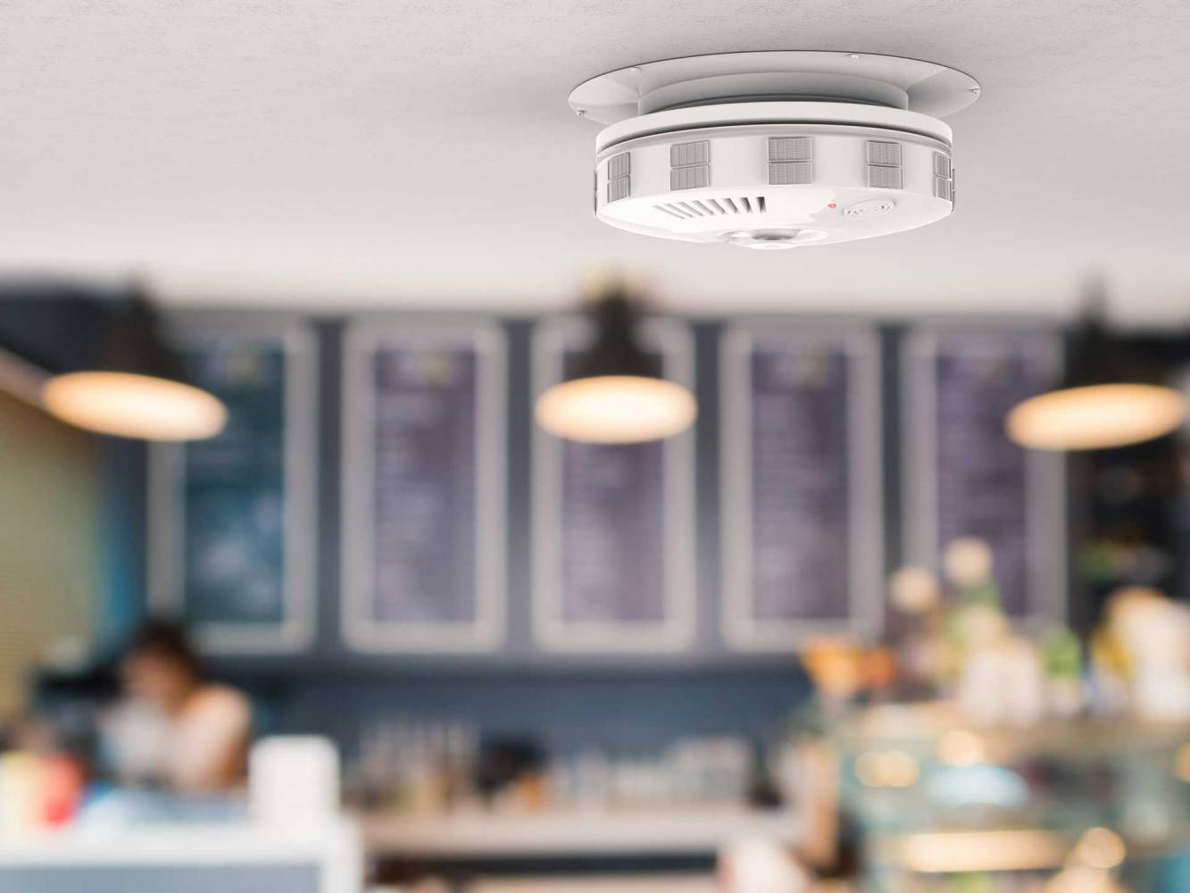 image of Smart smoke and O2 detectors installed by SESCOS