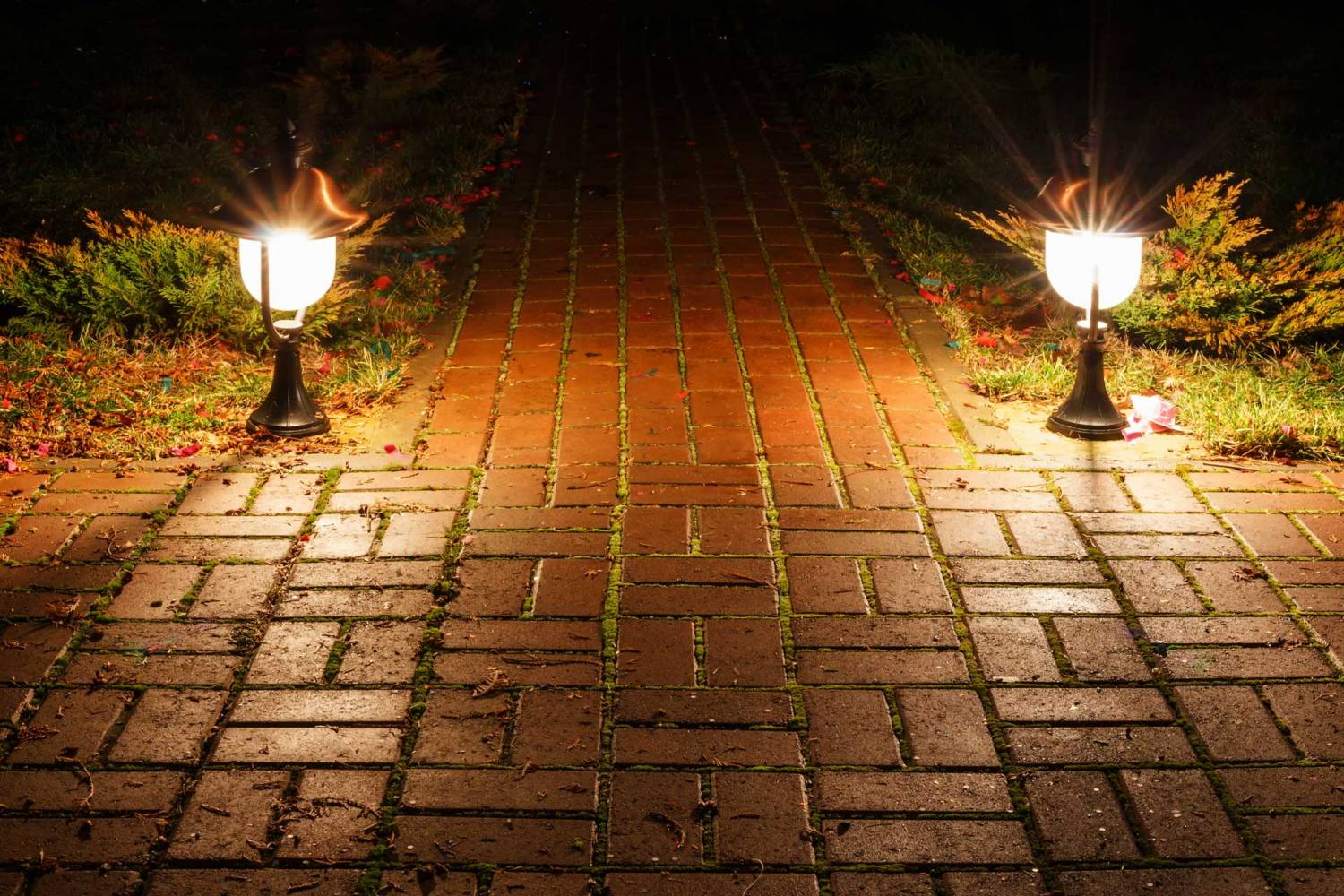 Image of LED lighting for walkways steps and decking by SESCOS Leesburg VA