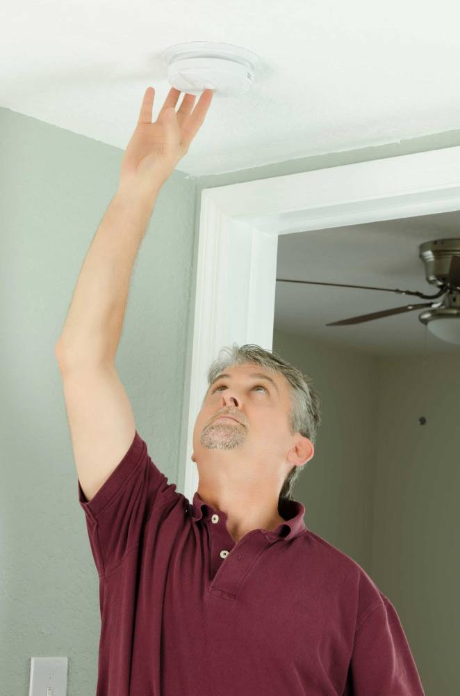 image of smoke alarm and co2 detectors upgrades and care