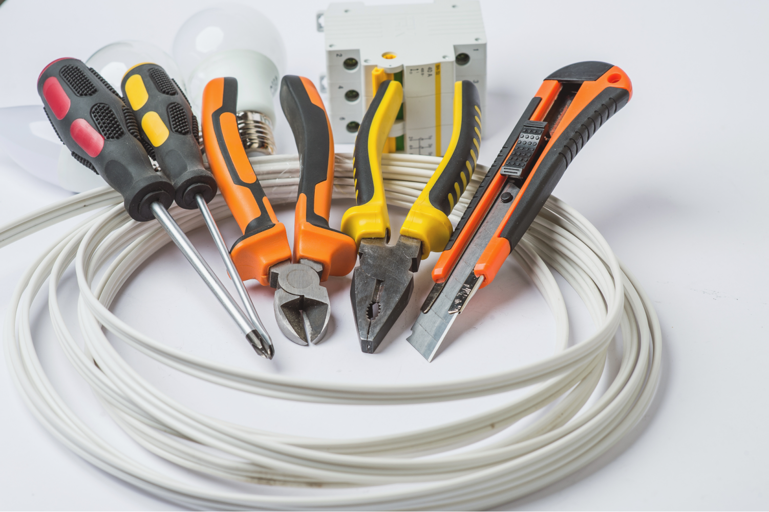image of electricians tools