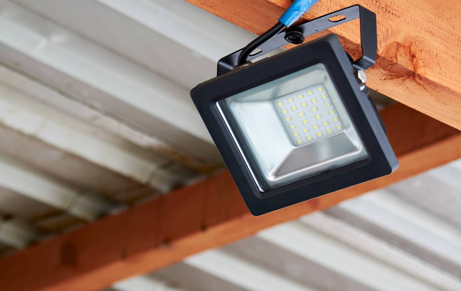 Image of LED flood lights for outdoor lighting by SESCOS